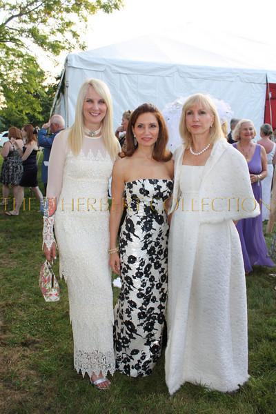 Sara Herbert-Galloway, Jean Shafiroff, Katlean de Monchy