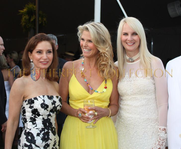 Jean Shafiroff, Christie Brinkley and Sara Herbert-Galloway