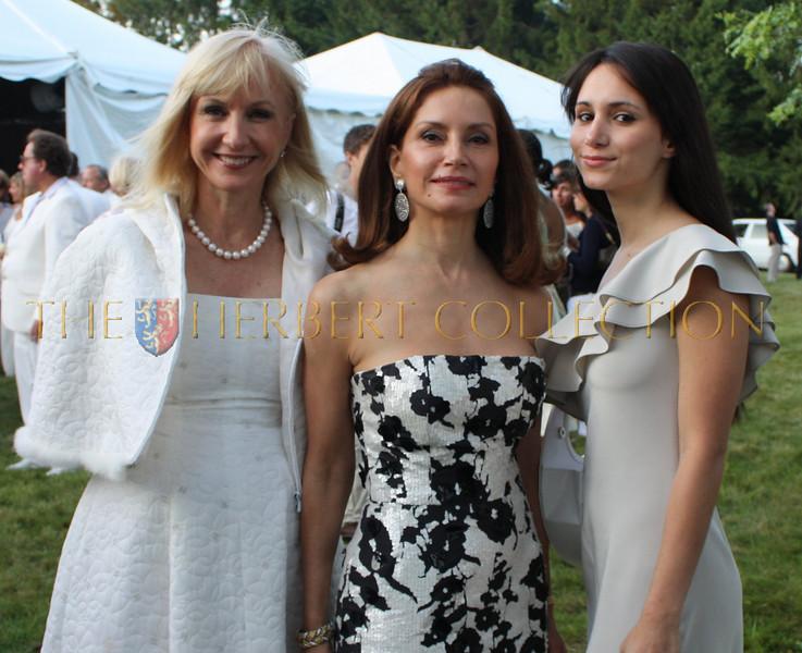 Katlean DeMonchy (Kat's Eye, Dan's Papers) , Jean Shafiroff and daughter Jackie