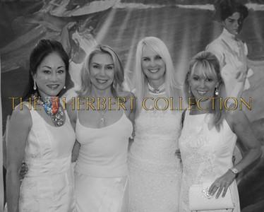"""Lucia Hwong-Gordon """"Fashion Committee"""" wearing Dennis Basso, Jacqueline Murphy Stahl, Sara Herbert-Galloway, Ramona Singer"""