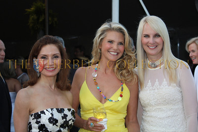 Jean Shafiroff, Christie Brinkley and Sara Herbert-Galloway
