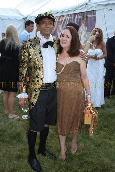 Shail Upadhya and Karen Bass