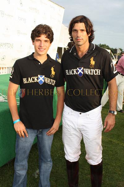 Justin Pierce Galloway and Nacho Figueras