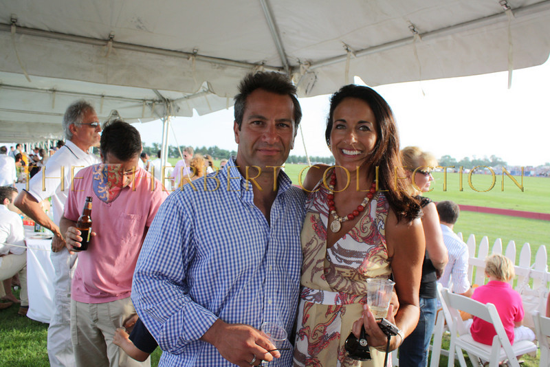 Roys and Donna Poyiadjis gracious hosts of Gabrielle's Angels Foundation
