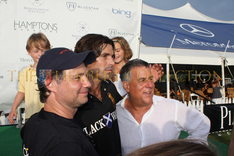 Jason Binn, Nacho Figueras, and Alan Lieberman