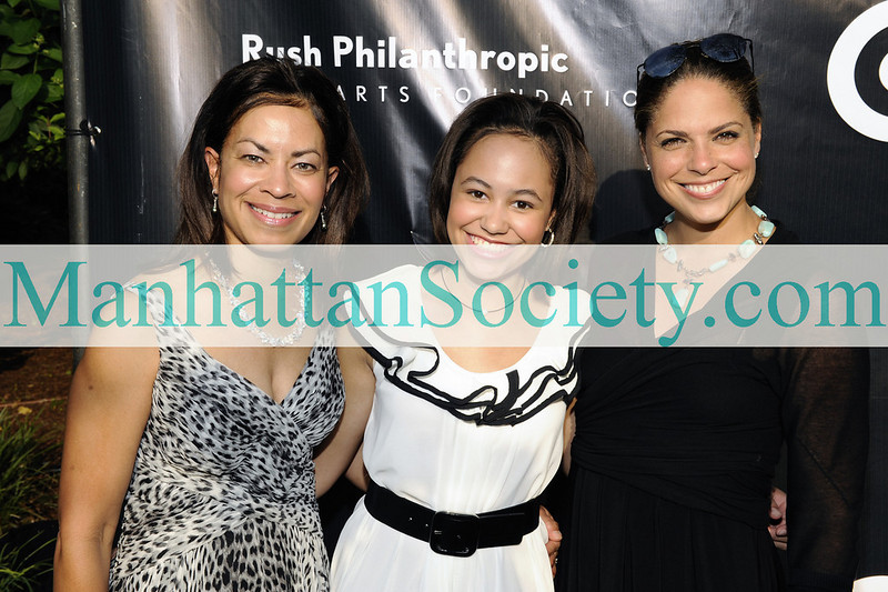 EAST HAMPTON-JULY 18: Dr. Simmons O'Brien, Cameron O' Brien, Soledad O'Brien attend Rush Philanthropic Arts Foundation's 10th Anniversary ART FOR LIFE Benefit on Saturday, July 18, 2009 at Russell Simmons' East Hampton Estate, East Hampton, New York (Photo Credit: ManhattanSociety.com by Gregory Partanio)