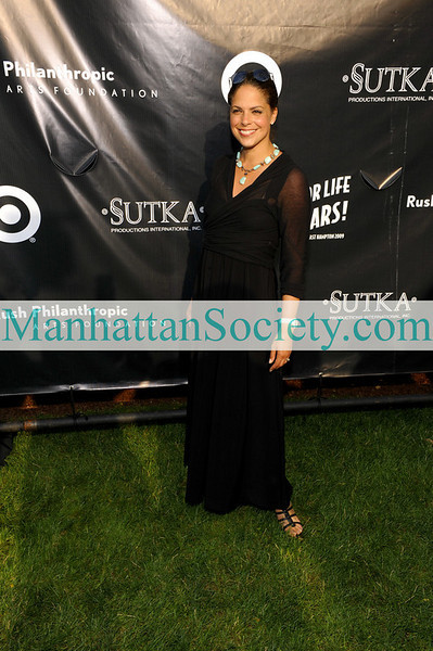 EAST HAMPTON-JULY 18: CNN's Soledad O'Brien attends Rush Philanthropic Arts Foundation's 10th Anniversary ART FOR LIFE Benefit on Saturday, July 18, 2009 at Russell Simmons' East Hampton Estate, East Hampton, New York (Photo Credit: ManhattanSociety.com by Gregory Partanio)