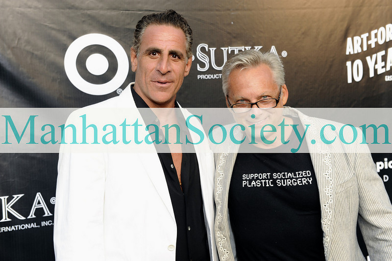 EAST HAMPTON-JULY 18: David Negri, Bruce Sutka attend Rush Philanthropic Arts Foundation's 10th Anniversary ART FOR LIFE Benefit on Saturday, July 18, 2009 at Russell Simmons' East Hampton Estate, East Hampton, New York (Photo Credit: ManhattanSociety.com by Gregory Partanio)