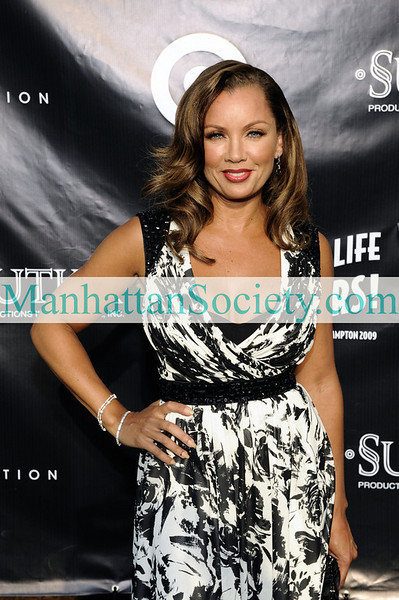 EAST HAMPTON-JULY 18: Vanessa Williams attends Rush Philanthropic Arts Foundation's 10th Anniversary ART FOR LIFE Benefit on Saturday, July 18, 2009 at Russell Simmons' East Hampton Estate, East Hampton, New York (Photo Credit: ManhattanSociety.com by Gregory Partanio)