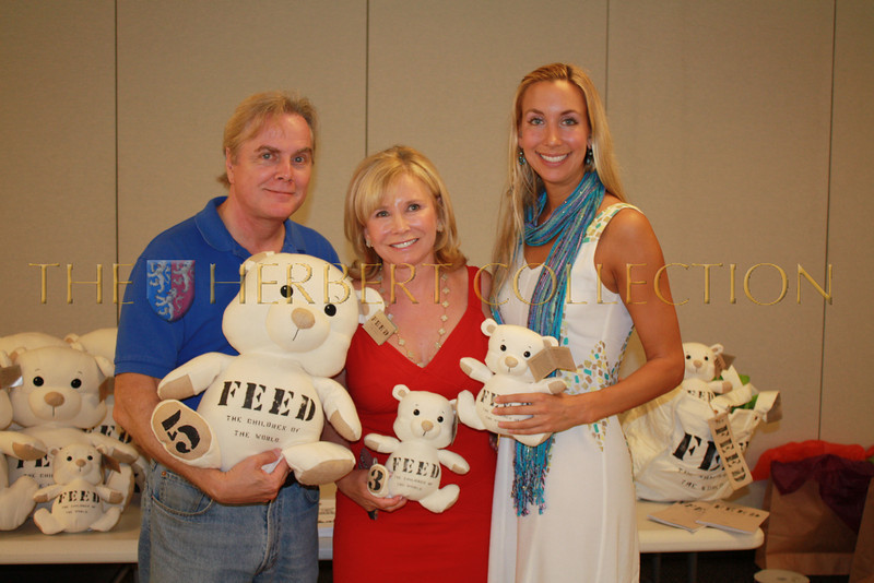 Charles Sheffield, Sharon Bush and Nicole Gabona