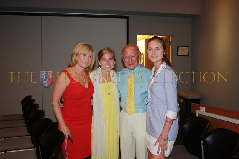 Sharon Bush, Ashley Bush, George Semerjian and Lauren Bush Founder of FEED
