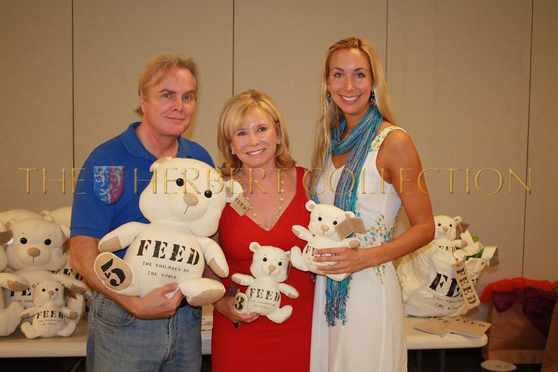 Charles Sheffield, Sharon Bush, Nicole Gabona