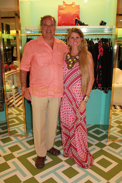 Mr. and Mrs. Broadway; Stewart Lane and Bonnie Comley Lane host shopping event to benefit The Theatre Museum at Tory Burch's East Hampton Store
