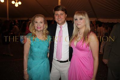 Tricia Nixon Cox, Christopher Nixon Cox, Andrea Catsimatidis