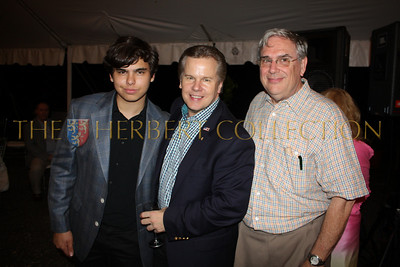 John Catsimatidis, Jr., Tomaczek Bednarek and guest
