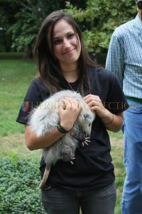 Mandy Capuano and possum