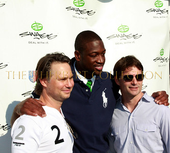 "Media Mogul Jason Binn, Dwayne Wade ""Miami Heat"" and NASCAR's Jeff Gordon"
