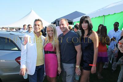 "Michael Lohans cast of ""CELEBRITY HOUSE"" Eric George, Sonia Lynn Stickles, Michael Lohan, and Pauline Ann"