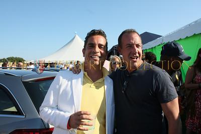 Eric George and Michael Lohan