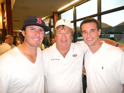 Vince Spaeda, Tim Gannon and son