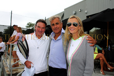 Jimmy Connors, Spencer Segura and  Bonnie Pfeifer Evans