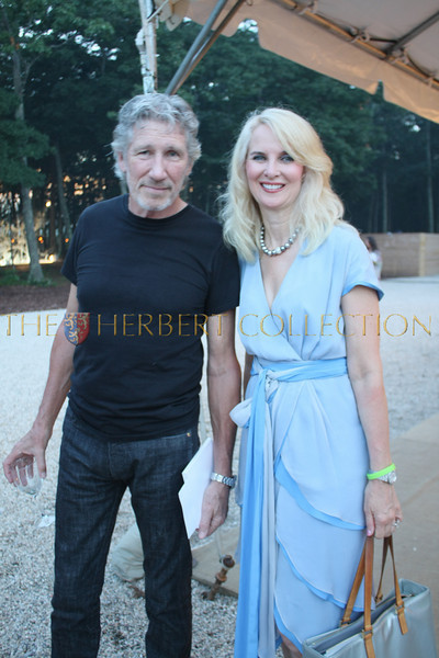 Roger Waters and Sara Herbert-Galloway
