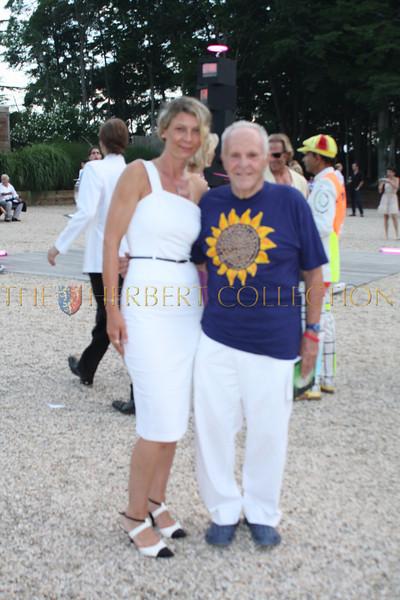 Daniela Zahradnikova and Henry Buhl