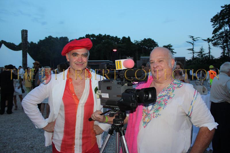 Kevin Berlin and David Nadal from Hamptons TV
