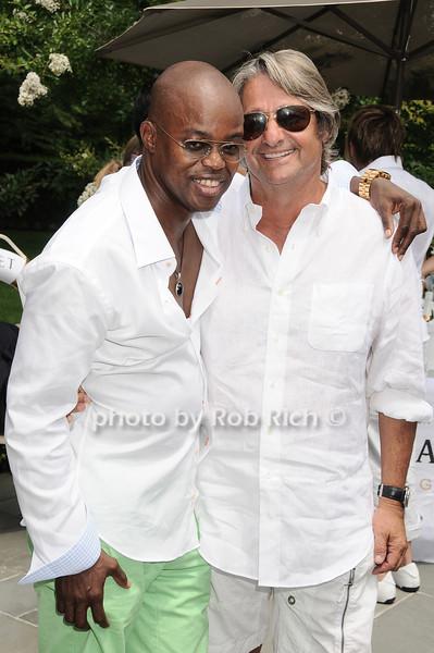 Merv Matheson, Larry Rosenthal<br /> photo by Rob Rich © 2010 robwayne1@aol.com 516-676-3939