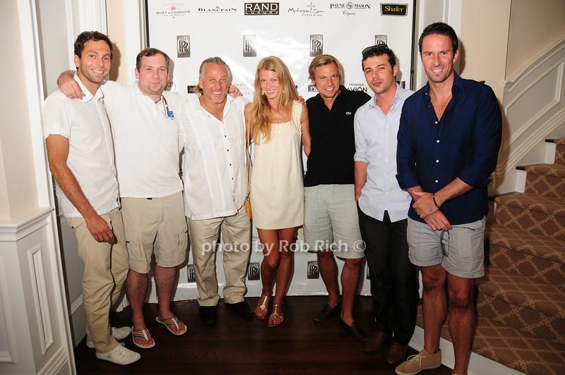 Cyril Mussetta, Richie Patrina, Ludo, Du Plessis, Nicola Vanetta, Trent Frazer, guest<br /> photo by Rob Rich © 2010 robwayne1@aol.com 516-676-3939