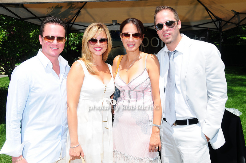 Ignazio Panepinto, Antonella Panepinto, Jennifer Gravagna, Christopher Gravagna<br /> photo by Rob Rich © 2010 robwayne1@aol.com 516-676-3939