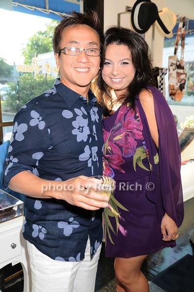 David Lee, Ellen Nasser<br /> photo by Rob Rich © 2010 robwayne1@aol.com 516-676-3939