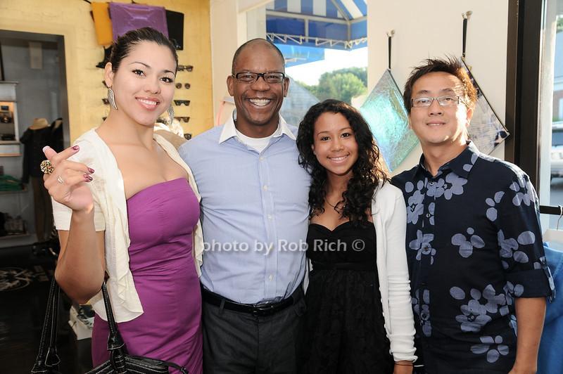 Gwendolyn Jenson, Curtiss Johnson, Brianna Johnson, David Lee<br /> photo by Rob Rich © 2010 robwayne1@aol.com 516-676-3939