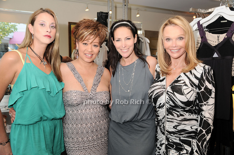 Jamie Jo Harris, Rosalind Lydster, Lori Levine, Fran Harris<br /> photo by Rob Rich © 2010 robwayne1@aol.com 516-676-3939