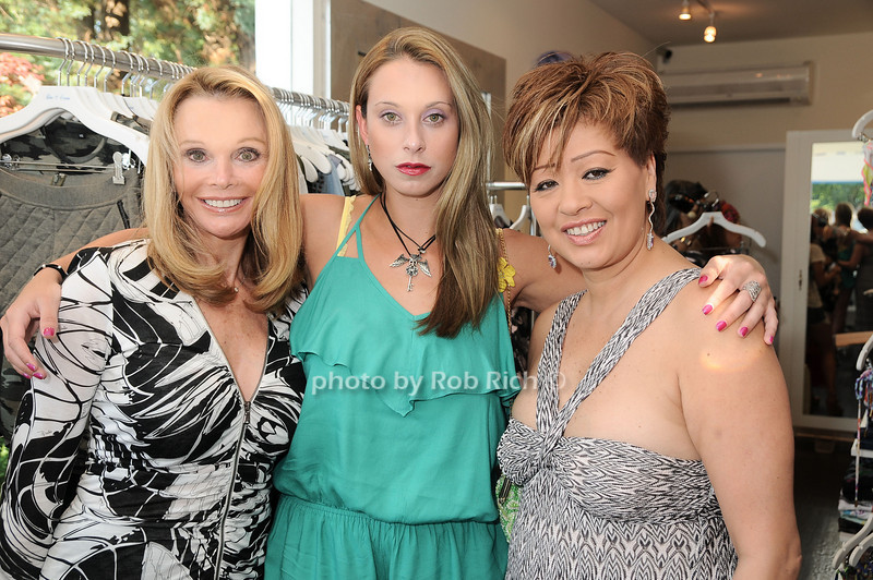 Fran Harris, Jamie Jo Harris, Rosalina  Lydster<br /> photo by Rob Rich © 2010 robwayne1@aol.com 516-676-3939