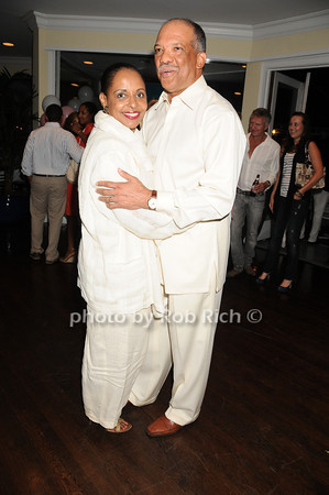 Wanda Brown, Ewart Brown<br /> photo by Rob Rich © 2010 robwayne1@aol.com 516-676-3939