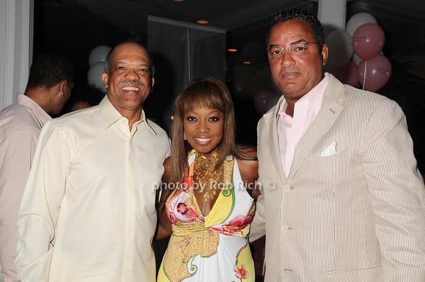 Premier Ewart Brown, Star Jones, Herb Wilson<br /> photo by Rob Rich © 2010 robwayne1@aol.com 516-676-3939