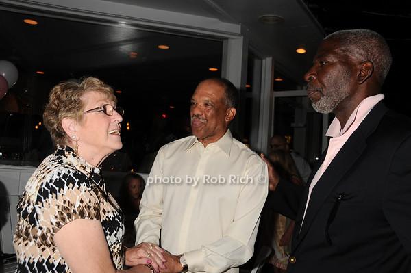 Barbara Barci, Premier Ewart Brown, Dan Gasby<br /> photo by Rob Rich © 2010 robwayne1@aol.com 516-676-3939