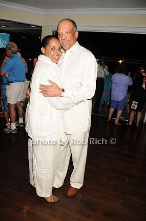 Wanda Brown, Ewart Brown<br /> photo by Rob Rich © 2010 robwayne1@aol.com 516-676-3939