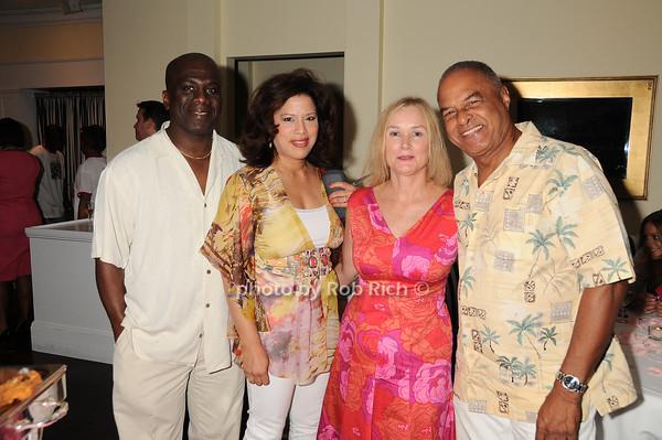 Kedrick Malone, Debra Malone, Kathleen Coughlin, Harry Campbell<br /> photo by Rob Rich © 2010 robwayne1@aol.com 516-676-3939