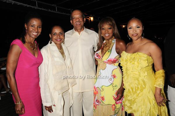 B.Smith, Wanda Brown, Premier Ewart Brown, Star Jones,Lynn Whitfield<br /> photo by Rob Rich © 2010 robwayne1@aol.com 516-676-3939