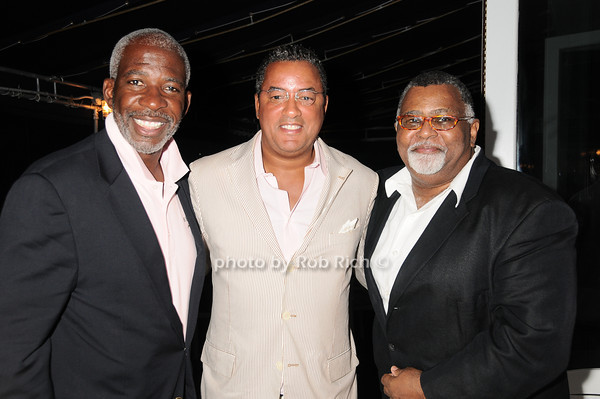 Dan Gasby, Herb Wilson, Alexander Smalls<br /> photo by Rob Rich © 2010 robwayne1@aol.com 516-676-3939