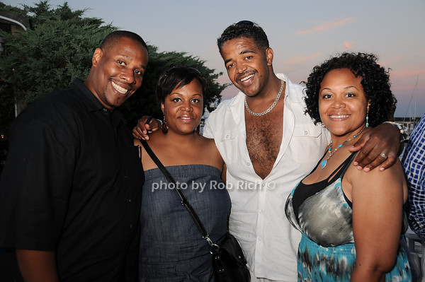 Stan Brown, Donna Brown,Christoper Gamlin,, Leah Gamlin<br /> photo by Rob Rich © 2010 robwayne1@aol.com 516-676-3939