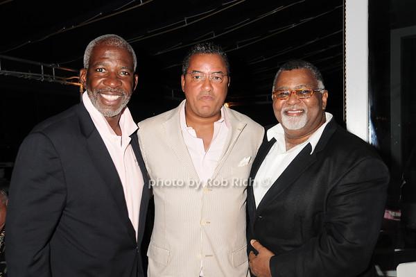 Dan Gasby, Herb Wilson, Alexander Smalls<br /> photo by Rob Rich © 2010 robwayne1@aol.com 516-676-3939