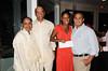 Wanda Brown, Ewart Brown, Arana Hankin, Patrick Webster<br /> photo by Rob Rich © 2010 robwayne1@aol.com 516-676-3939