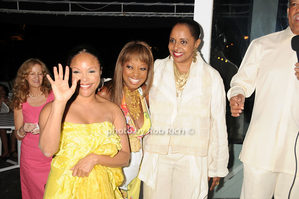 Lynn Whitfield, Star Jones, Wanda Brown<br /> photo by Rob Rich © 2010 robwayne1@aol.com 516-676-3939