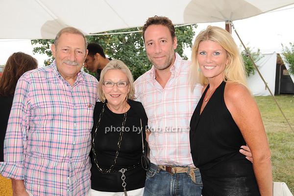 Sid Tobias, Maryann Tobias, Sam Tobias, Gail Tobias<br /> photo by Rob Rich © 2010 robwayne1@aol.com 516-676-3939