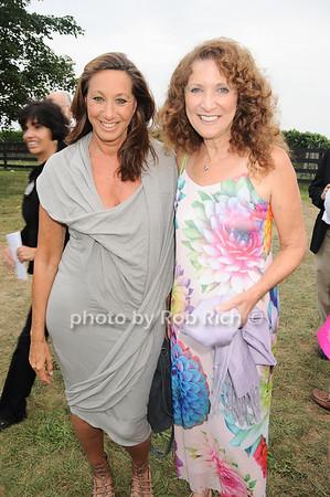 Donna Karan, Julie Ratner<br /> photo by Rob Rich © 2010 robwayne1@aol.com 516-676-3939