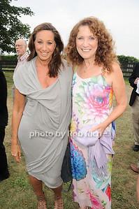 Donna Karan, Julie Ratner photo by Rob Rich © 2010 robwayne1@aol.com 516-676-3939