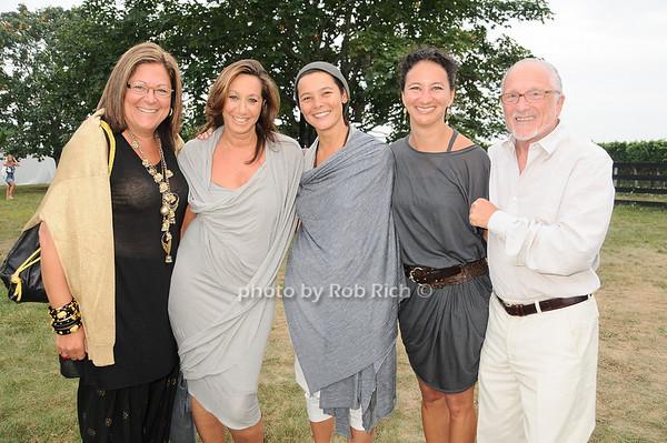 Fern Mallis, Donna Karan, Sonja Nuttal, Janera Soerl, Stanley Herman<br /> photo by Rob Rich © 2010 robwayne1@aol.com 516-676-3939
